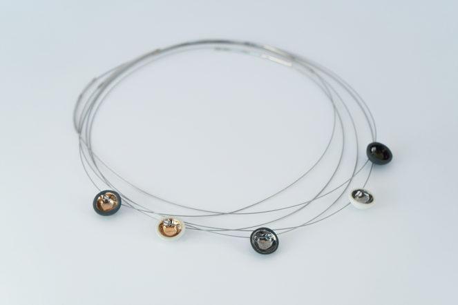 Semisferina Necklace Ceramic jewels